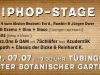 Stadtfest HipHop Stage 2017