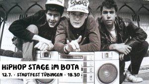 HipHop Stage im Bota am 12.7.2019